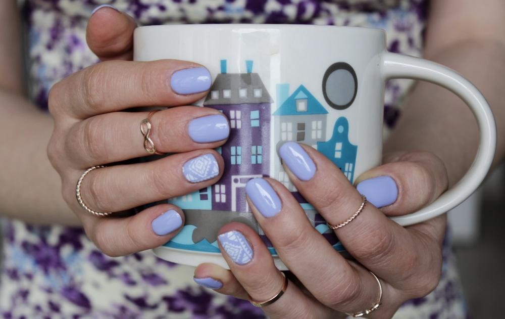 Semilac Lavender Cream