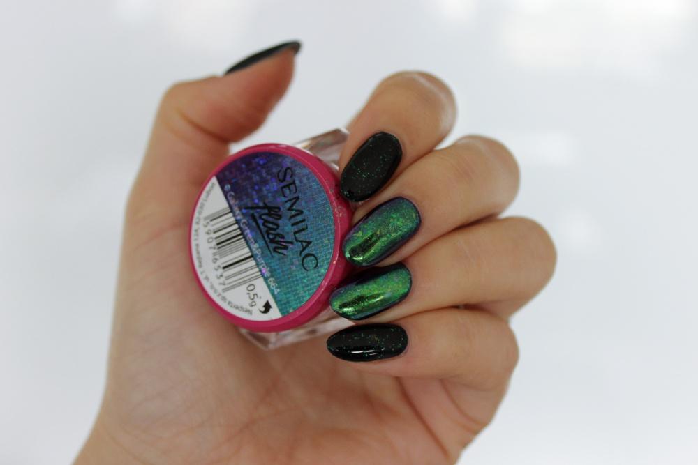 664 Green&purple Semilac