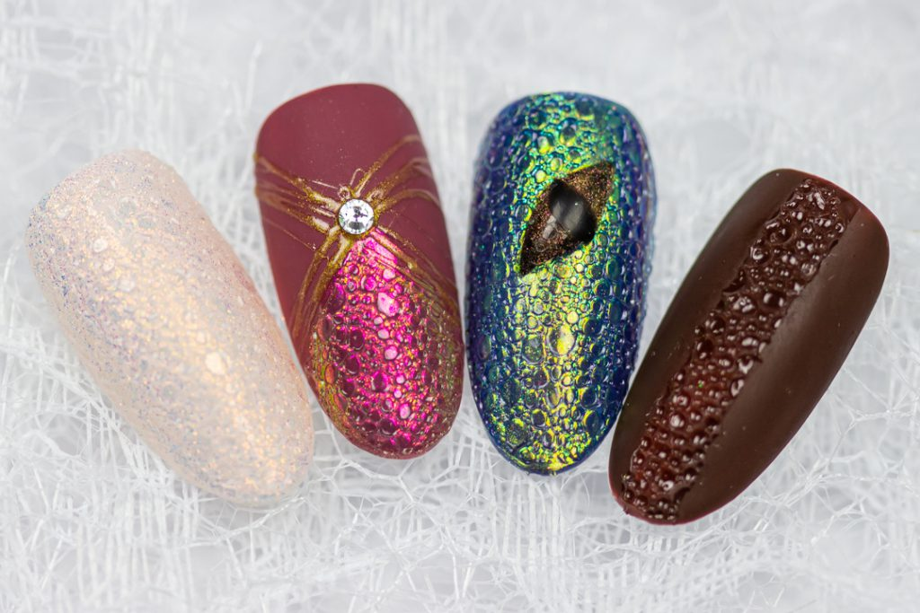 bublle nails